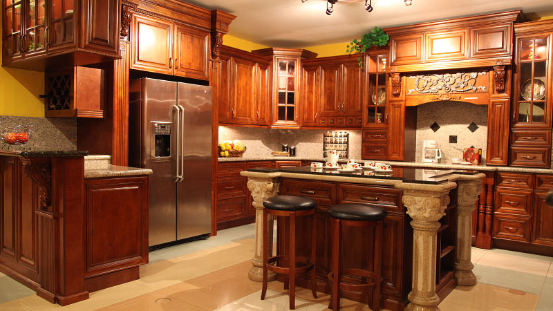 Bristol Coffee Kitchen Cabinets